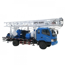 Truck mounted water well drilling rig DFC-S300