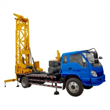 DFHC-150  Hydraulic Drilling Water Well Machine with Truck