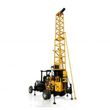XY-400P Hydraulic Drilling Rig with 40°-90°