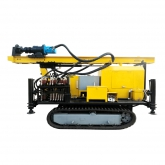 DFQ-150 150m Crawler DTH Water Well Drilling Rig